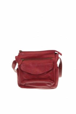 Дамска чанта Colorado, Цвят Червен, Естествена кожа, Цена 45,15лв.