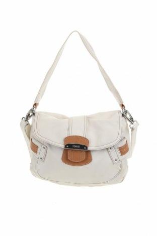 Дамска чанта Esprit, Цвят Бял, Еко кожа, Цена 34,65лв.