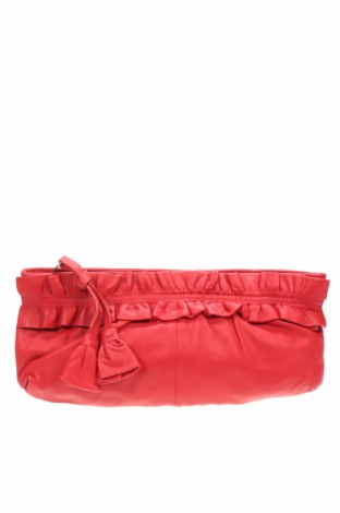 Дамска чанта Faith, Цвят Червен, Естествена кожа, Цена 27,41лв.
