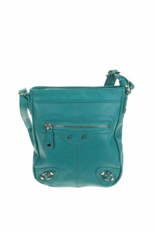 Дамска чанта Fiorelli, Цвят Зелен, Еко кожа, Цена 23,21лв.