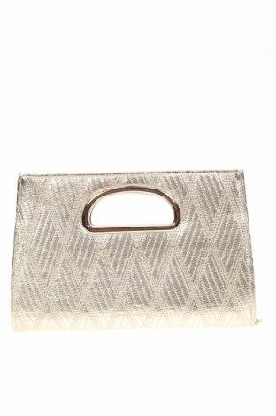 Дамска чанта Forever New, Цвят Златист, Еко кожа, Цена 27,30лв.