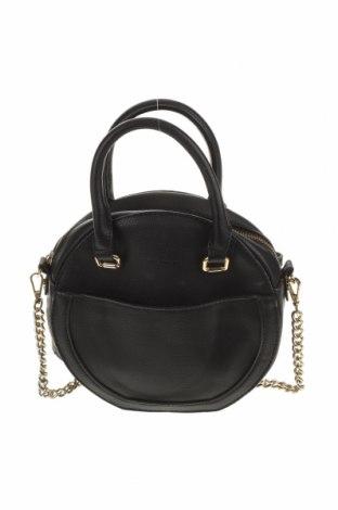 Дамска чанта Forever New, Цвят Черен, Еко кожа, Цена 21,00лв.
