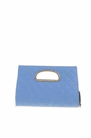 Дамска чанта Forever New, Цвят Син, Еко кожа, метал, Цена 31,92лв.
