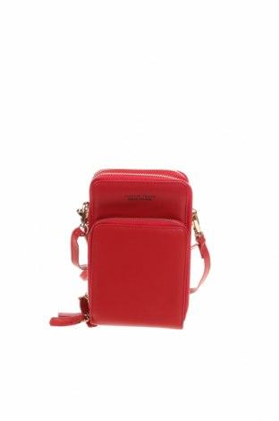 Дамска чанта Forever Young by Chicoree, Цвят Червен, Еко кожа, Цена 29,40лв.