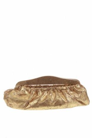 Дамска чанта Furla, Цвят Златист, Естествена кожа, Цена 137,80лв.