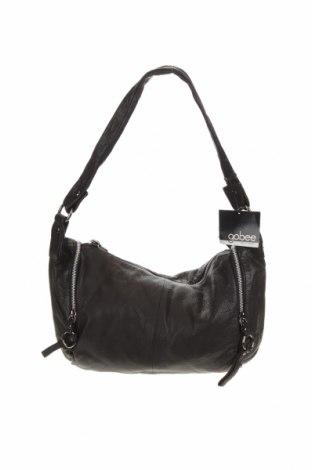Дамска чанта Gabee, Цвят Черен, Естествена кожа, Цена 51,98лв.