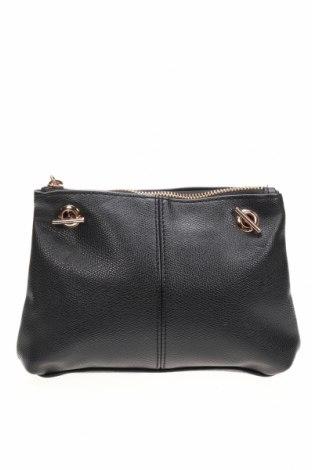 Дамска чанта H&M, Цвят Черен, Еко кожа, Цена 16,54лв.
