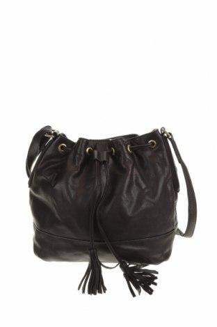 Дамска чанта JAG, Цвят Черен, Естествена кожа, Цена 54,81лв.