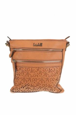Дамска чанта Kate Hill, Цвят Оранжев, Еко кожа, Цена 25,94лв.