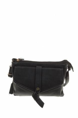 Γυναικεία τσάντα Laura Jones, Χρώμα Μαύρο, Δερματίνη, Τιμή 11,82€