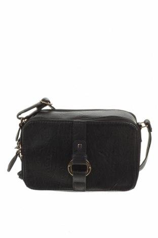 Дамска чанта Laura Jones, Цвят Черен, Еко кожа, Цена 21,74лв.