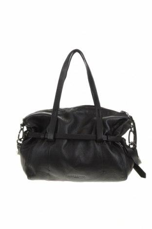 Дамска чанта Liebeskind, Цвят Черен, Естествена кожа, Цена 148,92лв.
