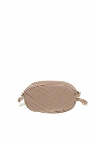 Дамска чанта Lincoln, Цвят Бежов, Еко кожа, Цена 31,92лв.