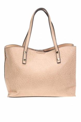 Дамска чанта Louenhide, Цвят Бежов, Еко кожа, Цена 33,60лв.