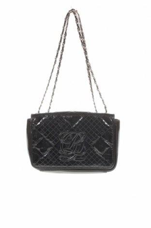 Дамска чанта Louis Quatorze, Цвят Черен, Еко кожа, Цена 15,83лв.