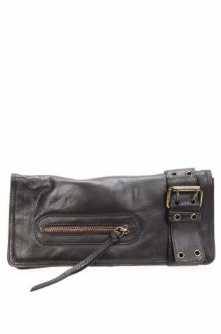 Дамска чанта MANZONI, Цвят Кафяв, Естествена кожа, Цена 61,95лв.