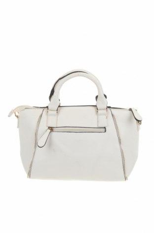 Дамска чанта Marikai, Цвят Бял, Еко кожа, Цена 29,40лв.