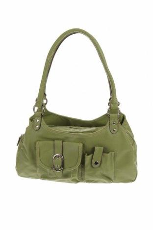 Дамска чанта Merona, Цвят Зелен, Еко кожа, Цена 22,94лв.