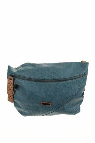 Дамска чанта Milleni, Цвят Син, Еко кожа, Цена 21,32лв.