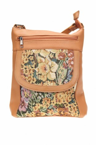 Дамска чанта Millers, Цвят Кафяв, Еко кожа, текстил, Цена 19,11лв.