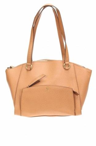 Дамска чанта Mimco, Цвят Кафяв, Ествествена кожа, Цена 48,30лв.