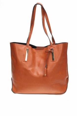 Дамска чанта Novo, Цвят Оранжев, Еко кожа, Цена 28,35лв.