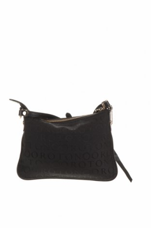 Дамска чанта Oroton, Цвят Черен, Еко кожа, текстил, Цена 45,36лв.