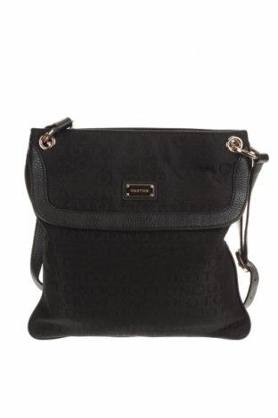 Дамска чанта Oroton, Цвят Черен, Текстил, естествена кожа, Цена 36,86лв.