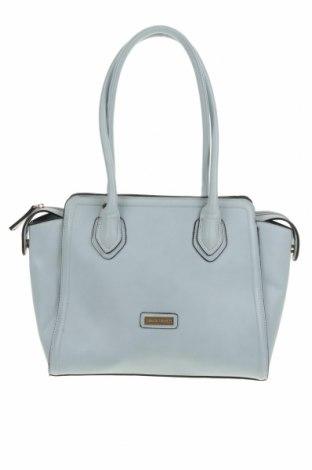 Дамска чанта Pierre Cardin, Цвят Син, Еко кожа, Цена 48,75лв.