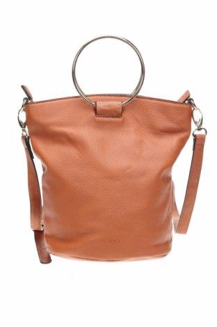 Дамска чанта Piper, Цвят Кафяв, Еко кожа, Цена 37,80лв.