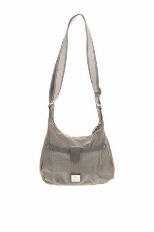 Дамска чанта S.Oliver, Цвят Сив, Текстил, еко кожа, Цена 28,35лв.