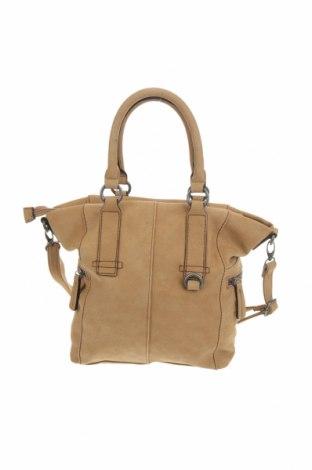 Дамска чанта S.Oliver, Цвят Кафяв, Еко кожа, Цена 61,50лв.