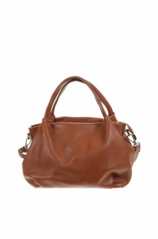 Дамска чанта Santini, Цвят Кафяв, Естествена кожа, Цена 43,89лв.