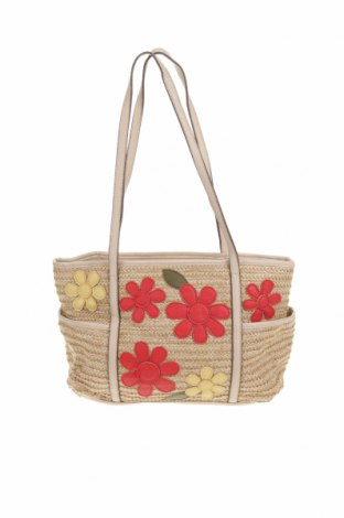 Дамска чанта St. John's Bay, Цвят Бежов, Текстил, еко кожа, Цена 41,90лв.
