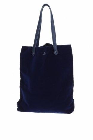 Дамска чанта Swarovski, Цвят Син, Текстил, Цена 48,75лв.