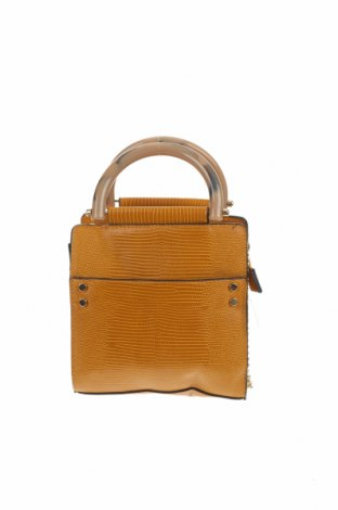 Дамска чанта Topshop, Цвят Жълт, Еко кожа, Цена 35,70лв.