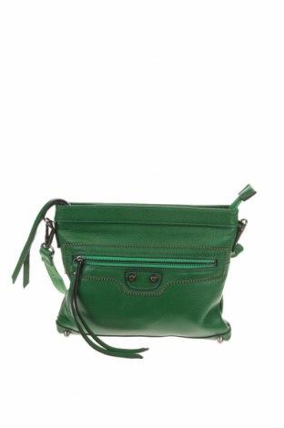 Дамска чанта Vera May, Цвят Зелен, Еко кожа, Цена 19,11лв.