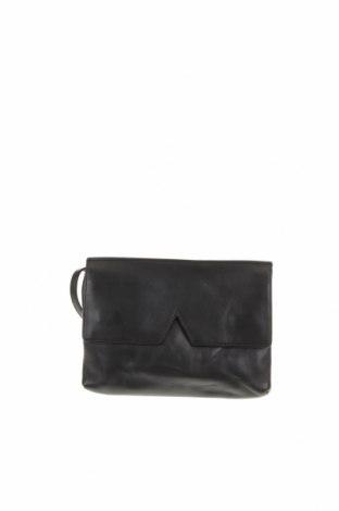 Γυναικεία τσάντα Vince, Χρώμα Μαύρο, Γνήσιο δέρμα, Τιμή 50,92€