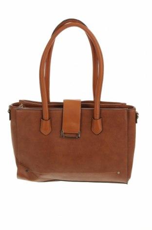 Дамска чанта Wayne Cooper, Цвят Кафяв, Еко кожа, Цена 23,20лв.