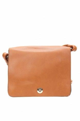 Дамска чанта Zara Trafaluc, Цвят Кафяв, Еко кожа, Цена 11,97лв.