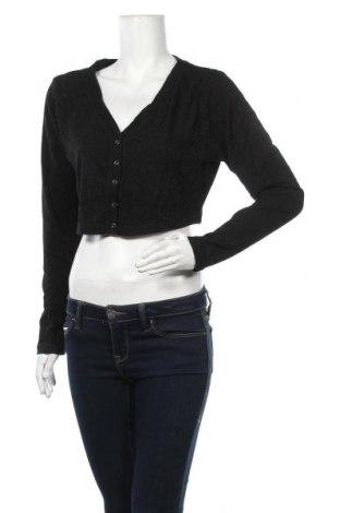 Дамска жилетка, Размер XXL, Цвят Черен, 94% полиестер, 6% еластан, Цена 34,02лв.