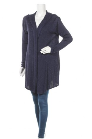 Γυναικεία ζακέτα Ajc, Μέγεθος L, Χρώμα Μπλέ, Τιμή 19,77€