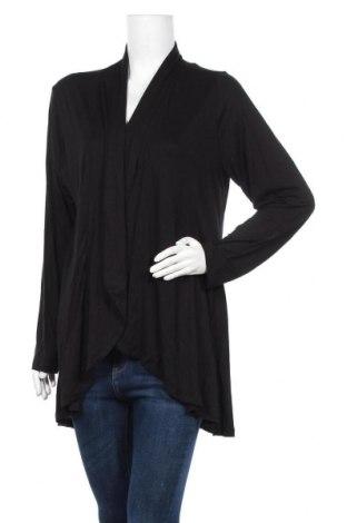 Γυναικεία ζακέτα Boysen's, Μέγεθος XL, Χρώμα Μαύρο, 95% βισκόζη, 5% ελαστάνη, Τιμή 18,77€