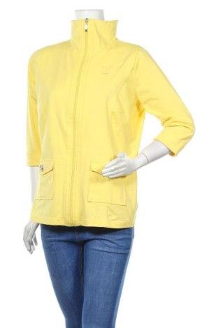 Дамска жилетка Collection L, Размер L, Цвят Жълт, 95% памук, 5% еластан, Цена 51,75лв.