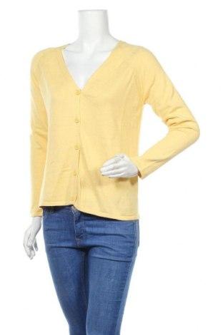 Дамска жилетка Esprit, Размер S, Цвят Жълт, Цена 21,08лв.