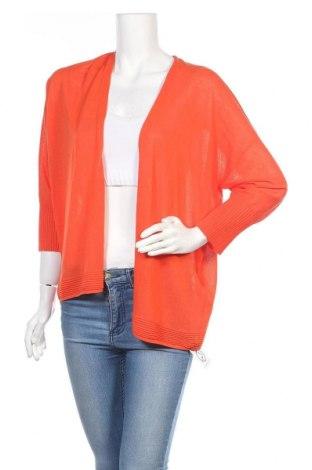 Дамска жилетка Gerry Weber, Размер L, Цвят Оранжев, 89% вискоза, 11% полиамид, Цена 25,92лв.