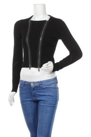 Дамска жилетка Karen Millen, Размер S, Цвят Черен, Цена 33,60лв.