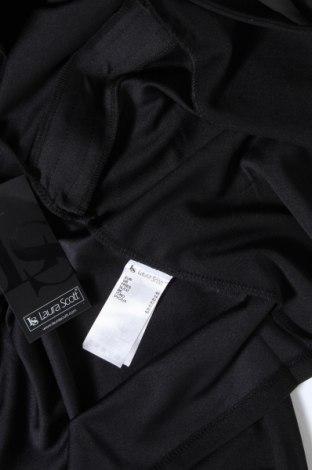 Дамска жилетка Laura Scott, Размер M, Цвят Черен, 95% полиестер, 5% еластан, Цена 40,50лв.