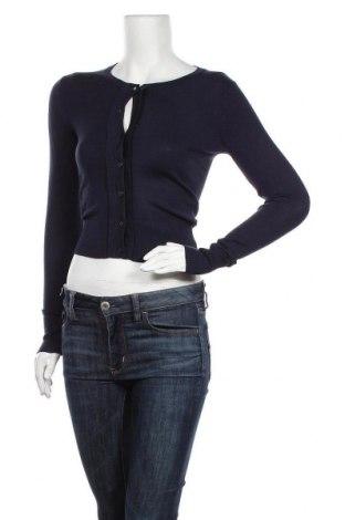 Cardigan de damă Louche, Mărime XS, Culoare Albastru, 80% viscoză, 20% poliamidă, Preț 85,53 Lei