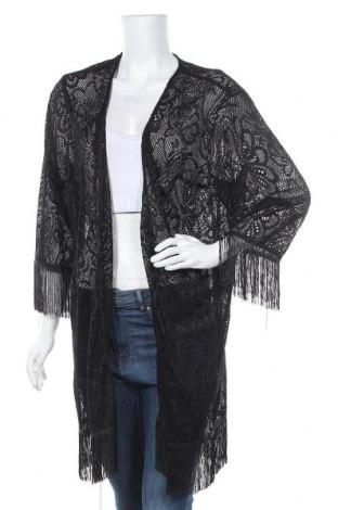 Дамска жилетка Miss Valley, Размер XL, Цвят Черен, 95% полиестер, 5% еластан, Цена 35,28лв.
